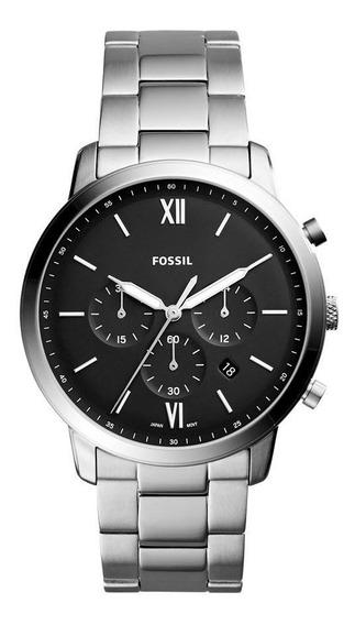 Relógio Fóssil Masculino Casual Prateado Fs5384/1kn