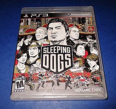 Jogo Playstation 3 Ps3 Sleeping Dogs Usado