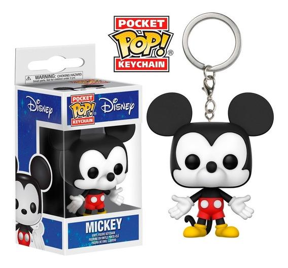 Chaveiro Mickey Mouse - Disney - Pocket Pop ! Funko