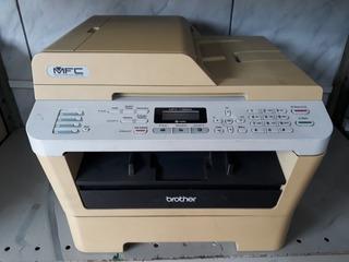 Impressora Brother 7360n Com Toner Completa