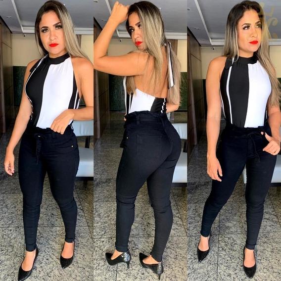 Calça Jeans Estilo Hot Pants Moda Feminina Kit 10 Peças Cçb