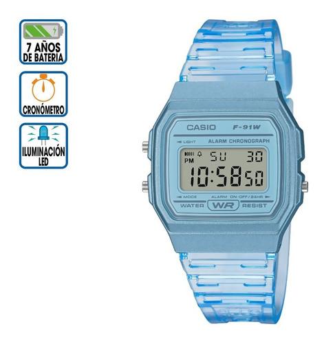 Reloj Casio Core F-91ws-2cf