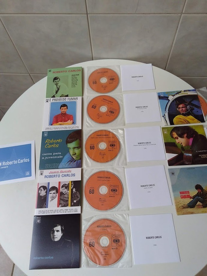 Roberto Carlos -pra Sempre - Anos 60 -cds Do Box