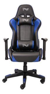 Cadeira Gamer Tarct, Preto/azul, Tct-9012