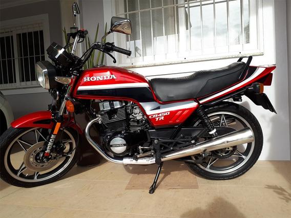 Relíquia Raridade Honda Cb 450 Tr 1987 Impecável