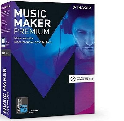 Magix Music Maker 2017 Premium 24.1.5.119 | Estudio Virtual