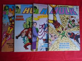 O Incrível Hulk - Nºs 69, 73, 74, 119 - Frete Grátis