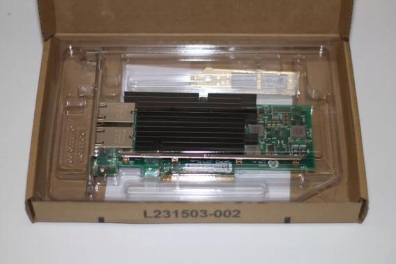 Bu Placa Rede Servidor Pci-e 2.0 X8 X540-t2 Dual Port 10gbit Servidor Dell Hp Ibm Lenovo Thinkserver Supermicro