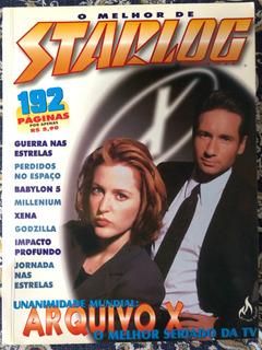 Revista Starlog O Melhor De Starlog Ed 2 1998 Arquivo X
