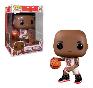 Michael Jordan White Jersey 10 Funko Pop Nba Legends Exclus