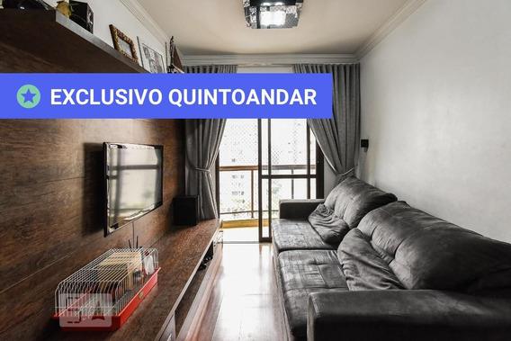 Apartamento No 7º Andar Com 3 Dormitórios E 1 Garagem - Id: 892956996 - 256996