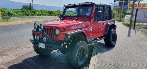 Jeep Wrangler Se 5vel Austero Mt 2003