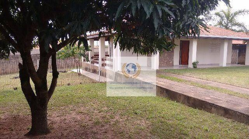 Chácara Com 3 Dormitórios À Venda, 1230 M² Por R$ 800.000,00 - Village Campinas - Campinas/sp - Ch0024