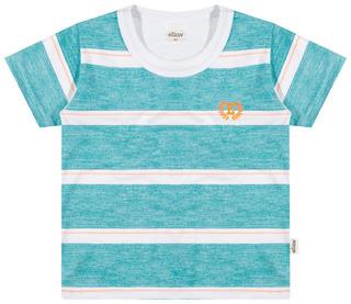 Camiseta Infantil Masculina Listras
