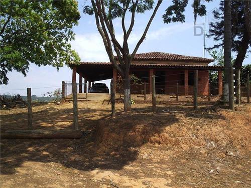Sítio Com 2 Dormitórios À Venda, 250000 M² Por R$ 1.750.000,00 - Zona Rural - Artur Nogueira/sp - Si0031