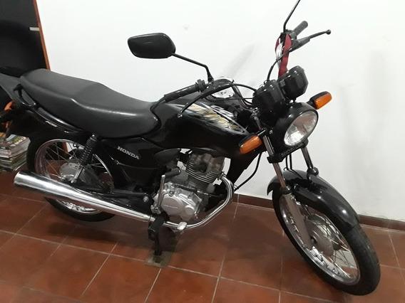 Unica Honda Cg 125 Titan Ks Año 2004 Negro Km 37300 Reales