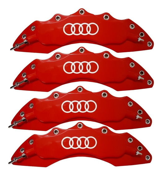 Capa Pinça De Freio Audi A1 A3 A4 A5 Tt Q3 - 4 Pçs + Cola