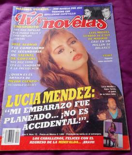 Revista Tvynovelas Sasha Sokol Timbiriche Lucia Mendez