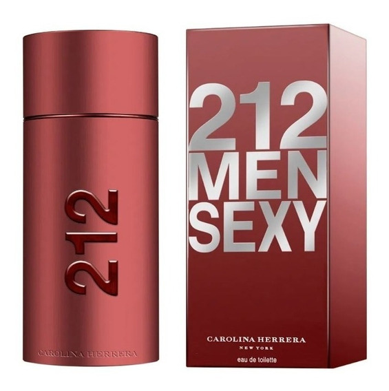 212 Sexy Men Edt Masculino 100 Ml Original Lacrado