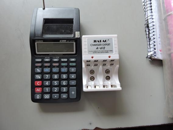 Calculadora Casio Semi Nova Com Carregado