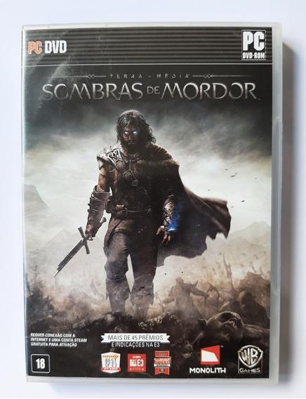 2 Jogos Pc - Sombras De Mordor ( 5 Discos ) + Dragon Age 2