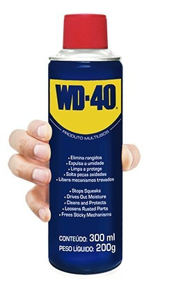 Lubrificante Anticorrosivo 300ml 12 Unidades - Wd-40