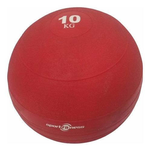 Balon De Peso 10kg Pelota Sportfitness Ejercicio Gimnasio