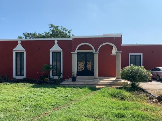 Quinta De Una Sola Planta Con Más De 5,000 M2 De Terreno, Dzitya, Mérida Norte
