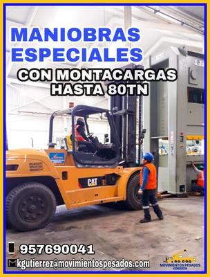 Alquiler De Montacargas Desde 2.5 A 16 Tn Trato Directo