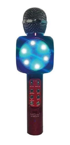 Imagen 1 de 10 de Microfonos Karaoke Con Bocina Incorporada Bluetoo / Impoluz