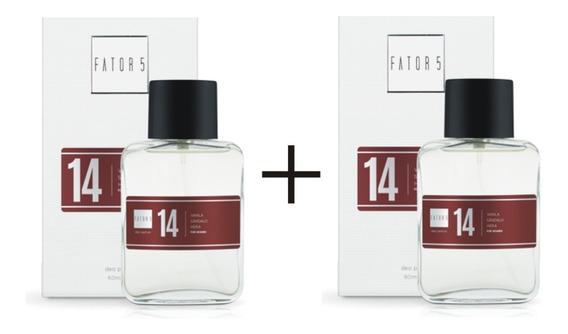 2 Perfumes Fator 5 60ml - Faça Sua Escolha