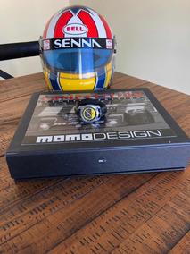 Relógio Edição Limitada Ayrton Senna Md-009