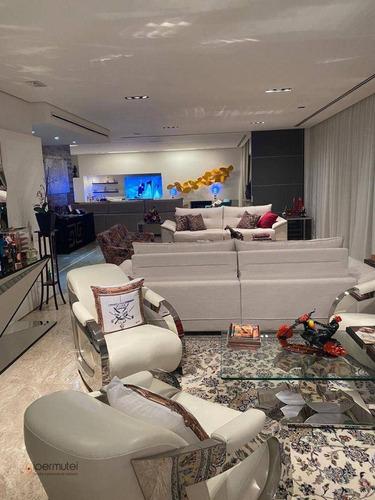 Imagem 1 de 30 de Magnífico Apartamento Com 4 Suítes, 450 M² - Venda Ou Aluguel - Panamby - São Paulo/sp - Ap3161