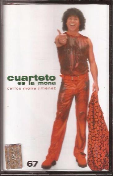La Mona Jimenez Cassette Cuarteto Es La Mona Cassette Nuevo