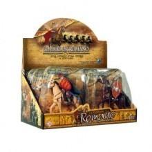 Kit Gladiador Romano Art Brink Com 3 Gladiadores Cavaleiros