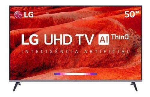 Imagem 1 de 5 de Smart Tv LG Ai Thinq 50um751c0sb Led 4k 50