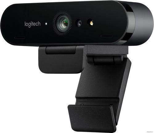 Webcam Logitech Brio 4k Micrófono Hdr Stream 6 Cuotas S/i
