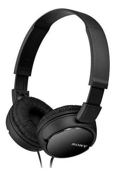 Fone L Sony Original Headphone Preto Mdr-zx110.