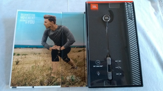 Fone De Ouvido Jbl Reflect Mini Bt 2 Bluetooth Sport Preto