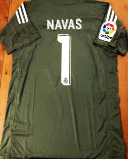 Camisa Do Real Madrid Goleiro Navas #1 La Liga
