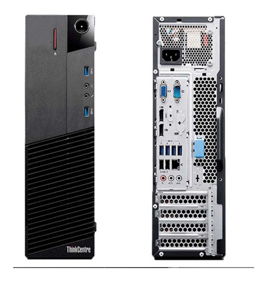 Desktop Cpu Lenovo M93p Core I5 8gb Ddr3 Ssd 120gb Wifi