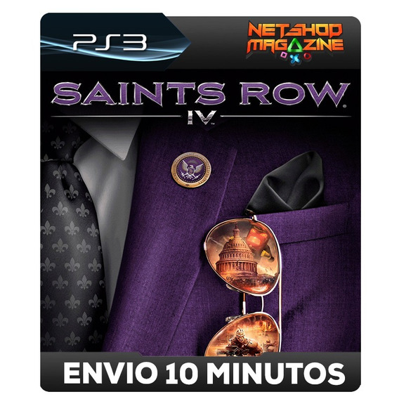 Saints Row Iv - Psn Ps3 - Envio Imediato
