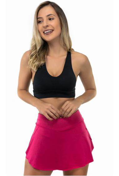 Short Saia Tapa Bumbum Feminino Fitness Academia E Ginástica