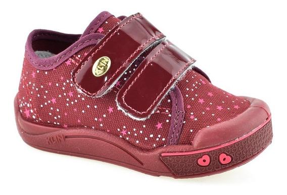 Tênis Infantil Confortável P/ Menina Klin Toy 942130 Envio24
