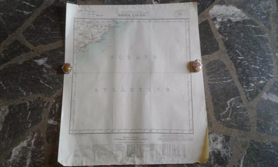 Mapa Bahía Laura Ins. Geográfico Militar 1930