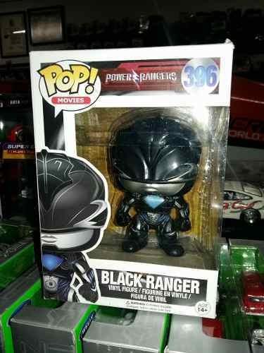 Funko Pop! Black Ranger #396 - Power Rangers Envio Gratis