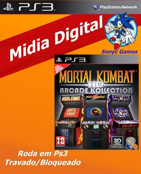 Mortal Kombat Hd Arcade Collection Ps3 - Psn