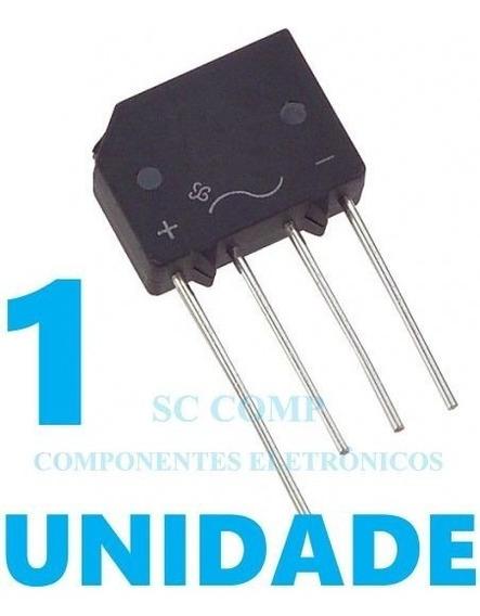 5 Diodo Ponte Retificadora 2 Amp 600 Volts 2kbp06me4
