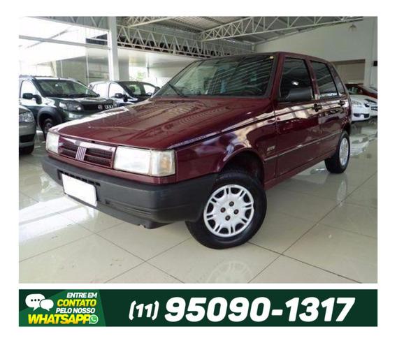 Fiat Uno 1.0 Mille Ep 8v Gasolina 1996 Vinho.