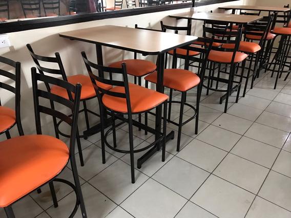 Mesas Sillas Para Restaurante Bar Sodas Cafeterias